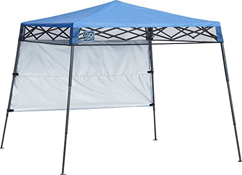 Quik Shade Go Hybrid 6' x 6' Sun Protection Pop-Up Compact and Lightweight 7' x 7' Base Slant Leg Backpack...