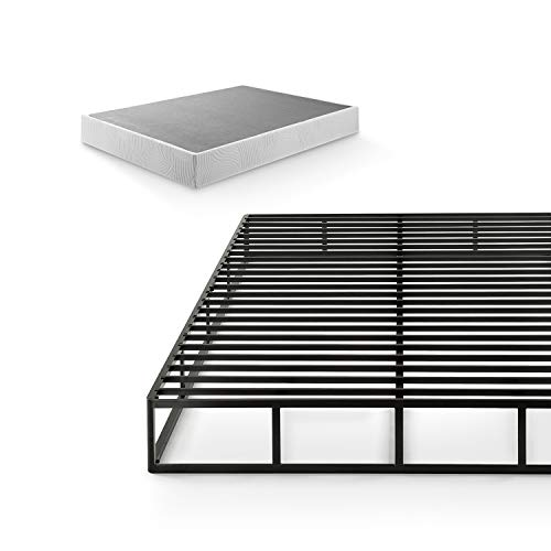 Zinus Victor 9 Inch Quick Lock Box Spring / Mattress Foundation / Built-to-Last Metal Structure / High Profile...