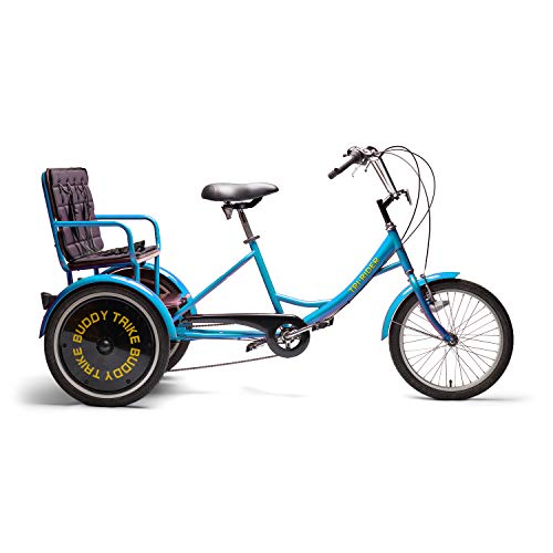 Belize TRI-Rider Buddy-Trike Adult Tricycle with Child Carrier Back seat