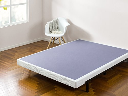 Zinus Walter 4 Inch Smart Box Spring / Mattress Foundation / Built-to-Last Wood & Metal Structure / Low...