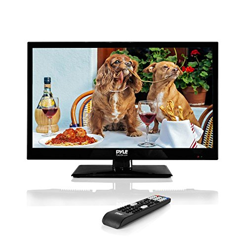 Pyle 18.5-Inch 1080p LED TV | Ultra HD TV | LED Hi Res Widescreen Monitor with HDMI Cable RCA Input | LED TV...