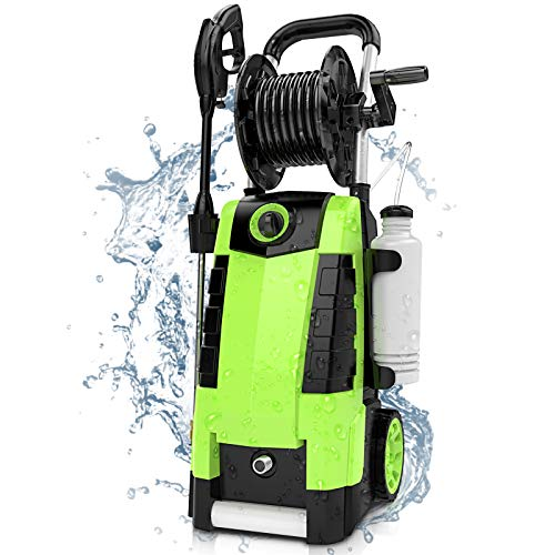 TEANDE 3800PSI Electric Pressure Washer, 2.8GPM High Pressure Power Washer 1800W Machine for Cars Fences...
