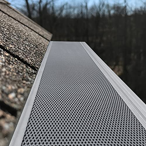 Air Jade Gutter Guard 5'', Super-Fine Coated Stainless Steel Mesh Needle and Leaf Filter, DIY and Modify for...