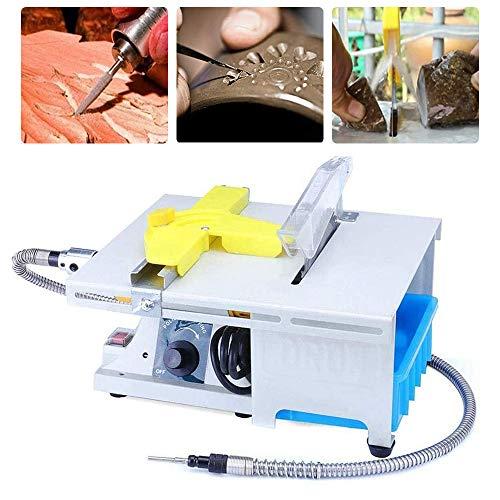 Professional High-Precision Jewelry Polishing Saw Kit, Water Cooling Gem Polishing Machine, Mini Table Saw Kit...