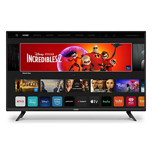 VIZIO 24-Inch D-Series LED HDTV with Apple AirPlay and Chromecast Built in Screen Mirroring for Second...