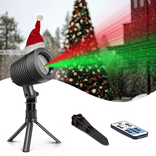 Christmas Laser Lights Landscape Projector Lights Outdoor Waterproof Laser Lamp for Halloween Outdoor...