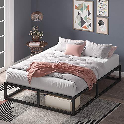 ZINUS Joseph Metal Platforma Bed Frame / Mattress Foundation / Wood Slat Support / No Box Spring Needed /...