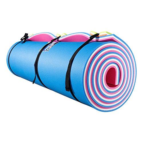 Fun Float Floating Water Mat, 18x6 feet,Swimming Island,Aqua Pad,Used in Lake,Pool,on Beach,for Relax,...