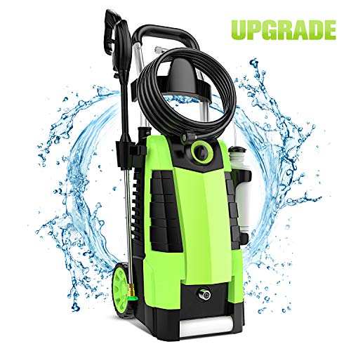 TEANDE 3800PSI Electric Pressure Washer, 3800PSI High Pressure Washer for Cars Fences Patios Garden Cleaning,...
