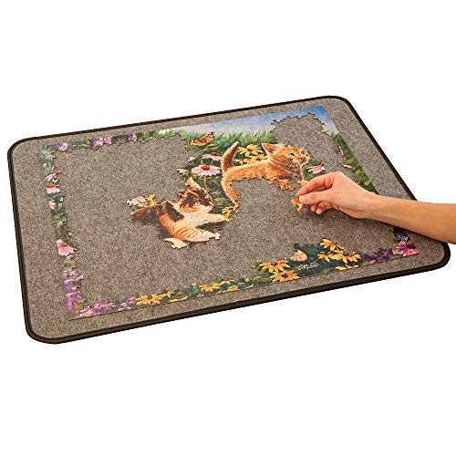 Bits and Pieces- Easy-Move Jigsaw Puzzle Pad - Medium 21' x 29' - Holds up to a 1000 Piece Puzzle -...