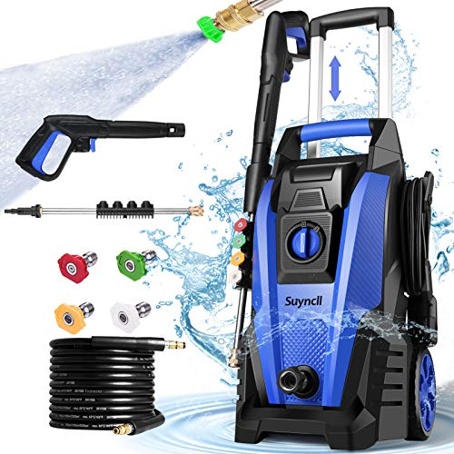 Suyncll Pressure Washer, 3800PSI Electric Power Washer, 2000W High Pressure Washer, Professional Washer...