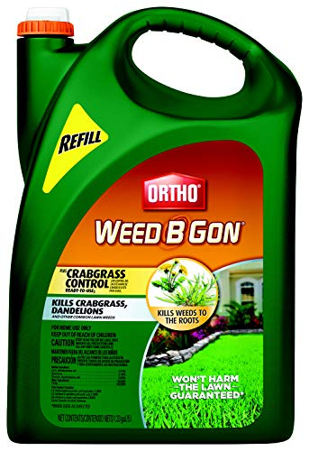 Ortho Weed B Gon Plus Crabgrass Control Ready-to-Use2 Refill (Wand), 1.33 Gallon
