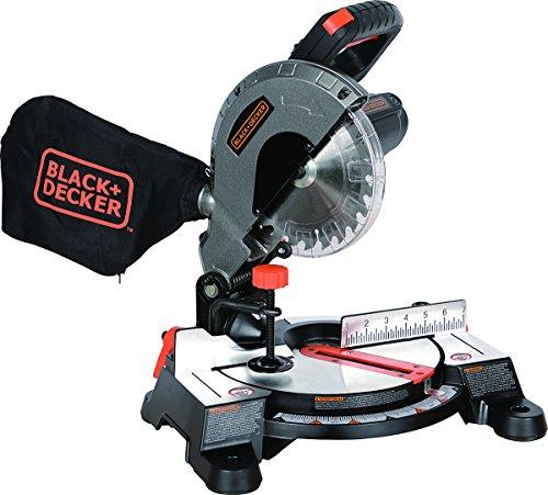 Black+Decker M1850BD 7-1/4' Compound Miter Saw,