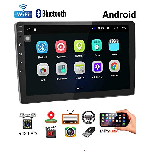 Car Stereo Double Din Android Navigation Stereo 10 Inch HD Touch Screen in Dash Car Stereo with Bluetooth GPS...