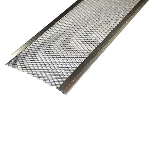 Spectra Metal Sales GS501LC25 Armour Screen Gutter Guard, Corrosive Resistant Aluminum, Easy to Install with...