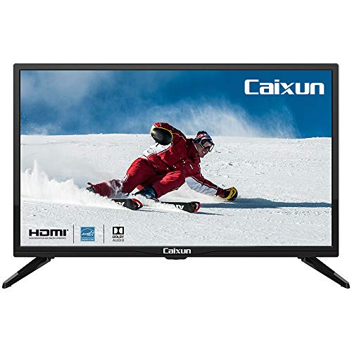 Caixun C24 24' Inch 720p LED HDTV, Built-in with HDMI, USB, High Resolution and Digital Noise Reduction(2020...