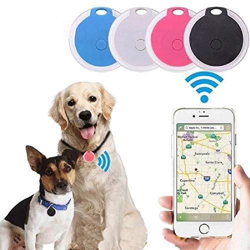 AFXOBO Mini GPS Tracking Device Locator Round Portable Bluetooth Intelligent Anti-Lost Alarm Device for...