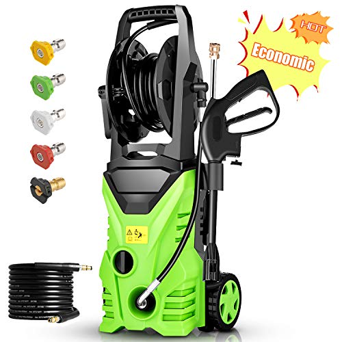 Homdox 2850 PSI Electric Pressure Washer, High Pressure Washer, Professional Washer Cleaner Machine with 5...