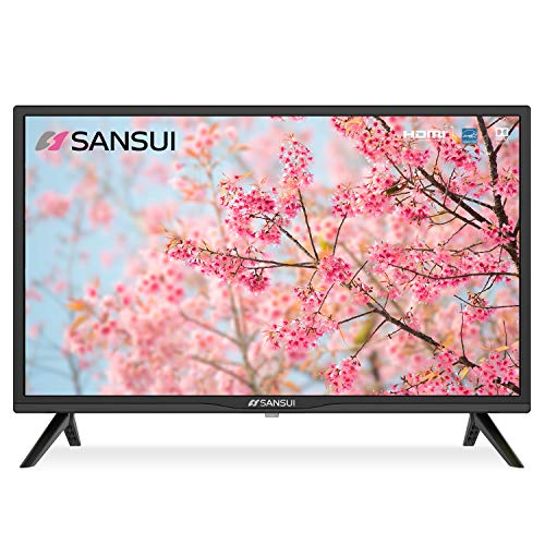 SANSUI 24 Inch TV 720P Basic S24 LED HD TV High Resolution Flat Screen Television Built-in HDMI,USB,VGA Ports...