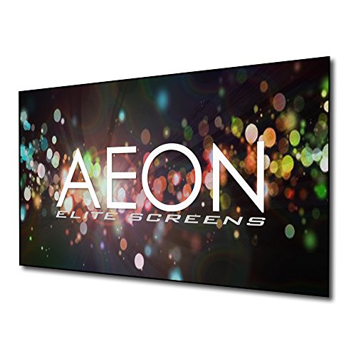 Elite Screens Aeon CLR Series, 90-inch 16:9, Edge Free Ambient Light Rejecting Fixed Frame Projector Screen,...