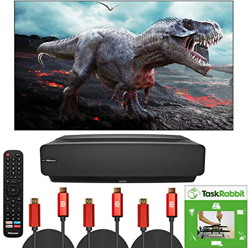 Hisense 100-Inch Class L5 Series 4K UHD Android Smart Laser TV with HDR (100L5F, 2020 Model) Home Theater...