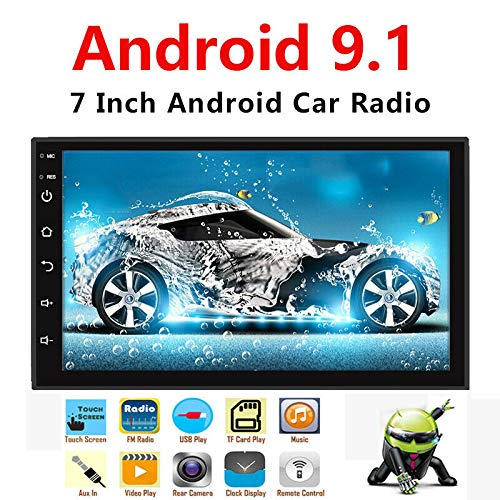 Binize Android 9.1 7 Inch HD Quad-Core 2 Din Car Stereo Radio Multimedia Player NO-DVD GPS Navigation in Dash...