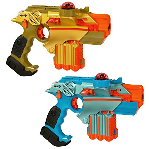 Nerf Official: Lazer Tag Phoenix LTX Tagger 2-pack - Fun Multiplayer Laser Tag Game for Kids & Adults, Ages 8...