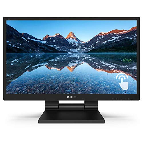 Philips 242B9T 24' Touch Screen Monitor, Full HD IPS, 10-Point capacitive Touch, USB 3.1 hub, Speakers, IP54...