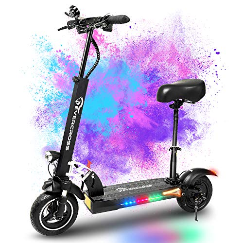 EverCross Electric Scooter, Electric Scooter for Adults with 800W Motor, Up to 28MPH & 25 Miles, Scooter for...