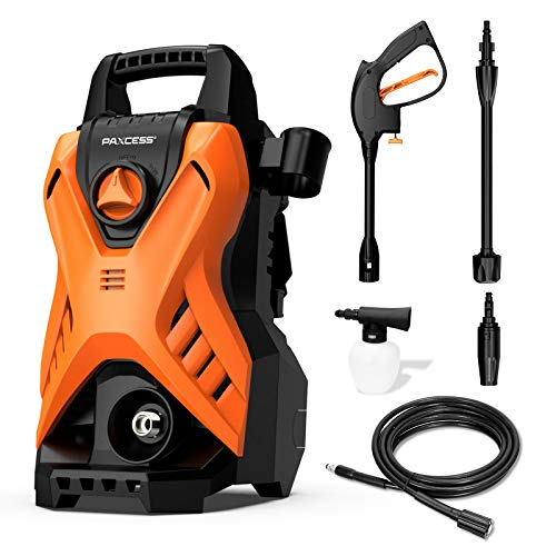 Paxcess Portable Pressure Car Washer, 1750 PSI 1.6GPM Electric Power Washer Machine with Adjustable Spray...