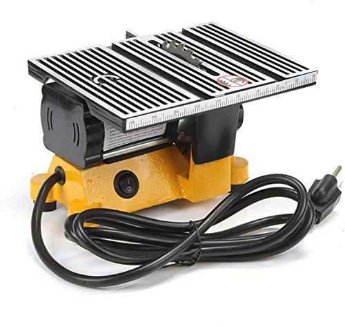 Mini Table Saw 4' Portable Table Saw 4 inch Table Saw for Crafting Worksite Table Saw for DIY Handmade Wooden...