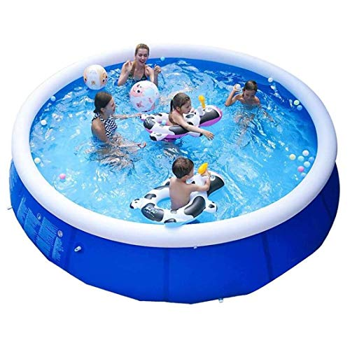 EPROSMIN Inflatable Ground Swimming Pool- 10 FT Outdoor Swimming Pool - Suitable for Adults, Kids, Toddlers-...