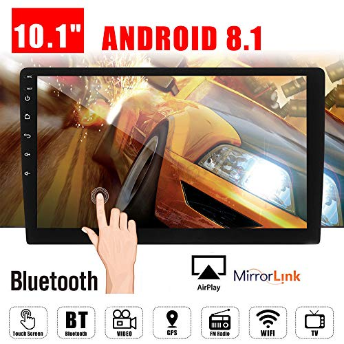10.1' Android 8.1 Car GPS Double 2Din Quad Core 16GB Touch Screen in Dash Car Stereo Radio Navigation with...