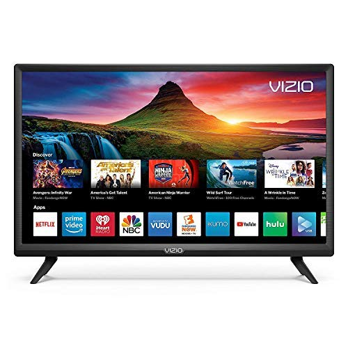 Vizio D-Series 24inch HD (720P) Smart LED TV, Smartcast + Chromecast Included - D24H-G9 (Renewed)