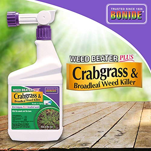 Bonide (BND066) - Weed Beater Plus, Ready to Spray Crabgrass and Broadleaf Weed Killer (32 oz.)