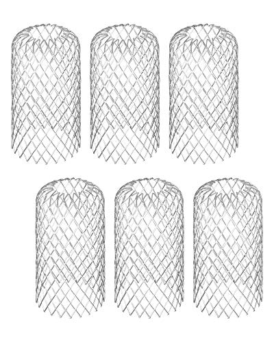 3 Inch Gutter Guard, 6 PCs Stainless Steel Leaf Filter Gutter Downspout Protection, Expandable Gutter Filter...