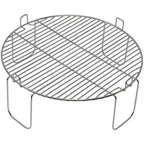 4 inch Stainless Steel Grill Rack Compatible with NuWave Oven PRO Models ONLY   Reversible 1 inch Grate...