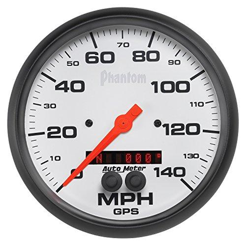 Auto Meter 5881 Phantom GPS Speedometer,5.000 in.