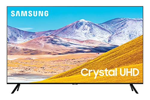 Samsung 85-inch Class Crystal UHD TU-8000 Series - 4K UHD HDR Smart TV with Alexa Built-in (UN85TU8000FXZA,...