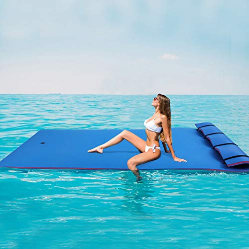 Outroad Floating Mat Floating Water Pad Recreation and Relaxing for Lakes, Oceans & Pools, Giant Lily Pad for...