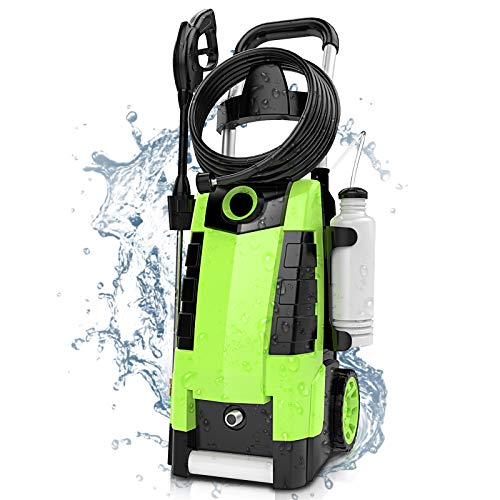 TEANDE 3800PSI Electric Pressure Washer, 2.8GPM 1800W 3800PSI High Pressure Washer for Cars Fences Patios...