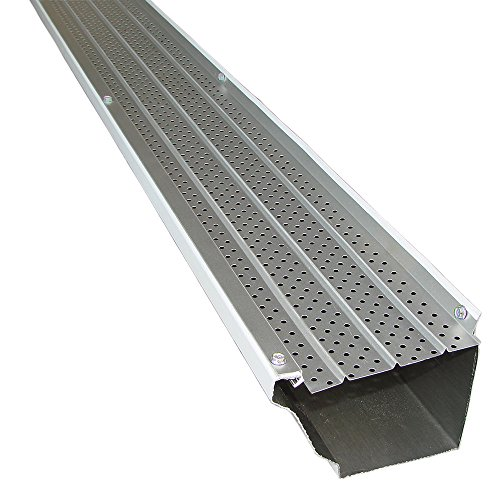 FlexxPoint 30 Year Gutter Cover System, Residential 5' Gutter Guards, 102ft