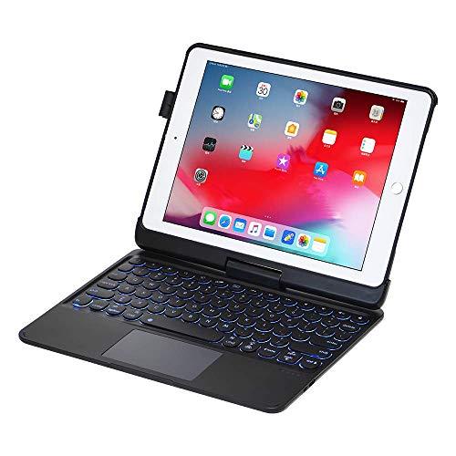 iPad Keyboard Case for iPad 2018 (6th Gen) - iPad 2017 (5th Gen) - iPad Pro 9.7 - iPad Air 2&1-360 Rotatable -...