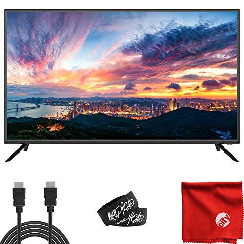 Sansui 40-Inch 1080p FHD DLED Smart TV (S40P28FN) Slim Ultra-Light Bezel Built-in with HDMI, USB, High...
