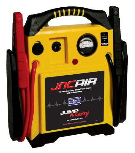 Clore Automotive Jump-N-Carry JNCAIR 1700 Peak Amp Jump Starter with Air Compressor
