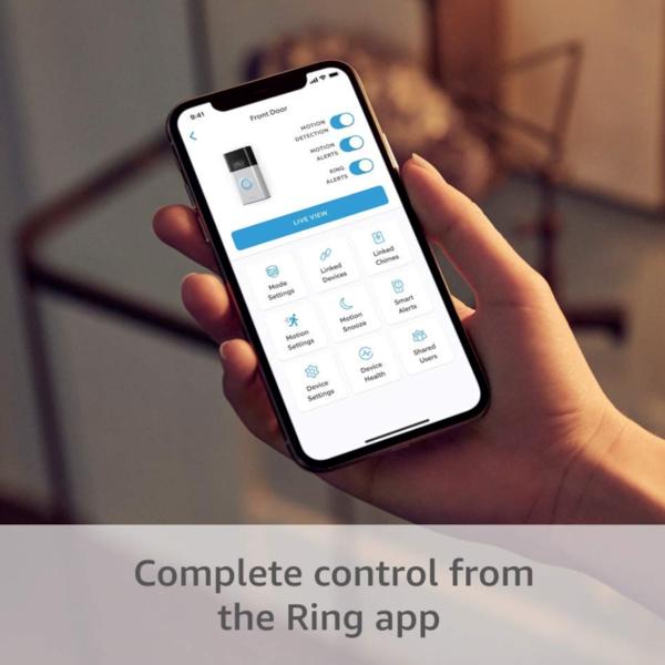ring doorbell installation wireless